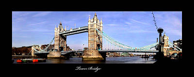 Photograph - Tower Bridge London England by Richard Erickson