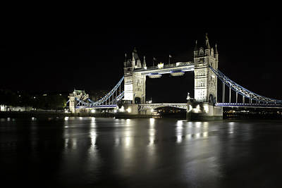 Photograph - Tower Bridge London by Gouzel -
