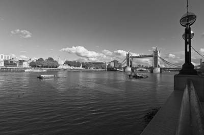 Photograph - Tower Bridge London by Maj Seda
