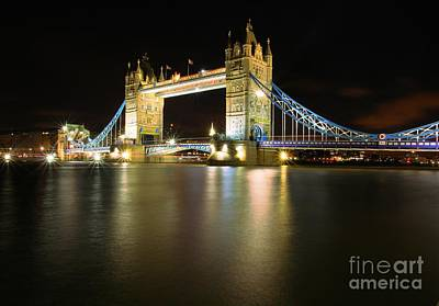 Tower Bridge London Art Print