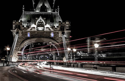 Tower Of London Photograph - Tower Bridge London by Martin Newman