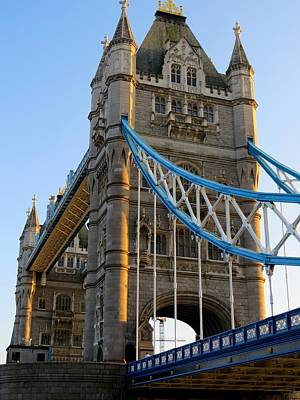 Photograph - Tower Bridge - London by Ron Grafe