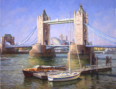 Tower Bridge.london Art Print