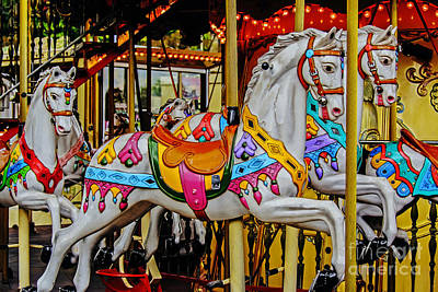 Photograph - Tower Carousel by Elvis Vaughn