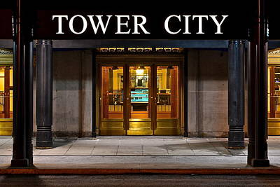Tower City Cleveland Ohio Print by Frozen in Time Fine Art Photography