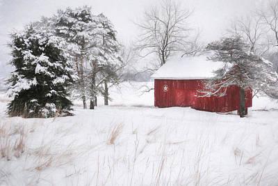 Barn Digital Art - Tower City Farm by Lori Deiter