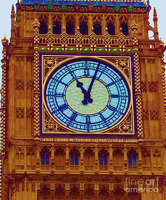 Photograph - Tower Clock  by Vicky Tarcau