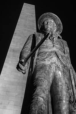 Photograph - Bunker Hill In Boston by John McGraw