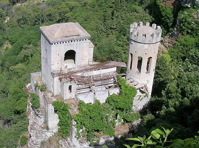 Photograph - Tower In Erice Sicily by Caroline Stella