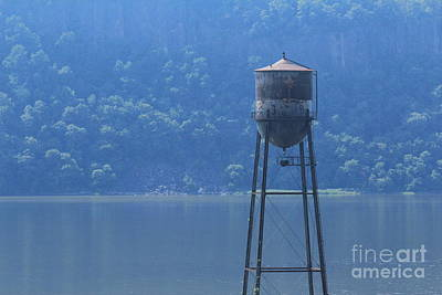 Photograph - Tower In The Water by Lotus