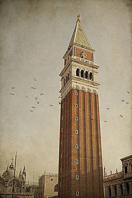 Photograph - Tower In Venice by Ethiriel  Photography