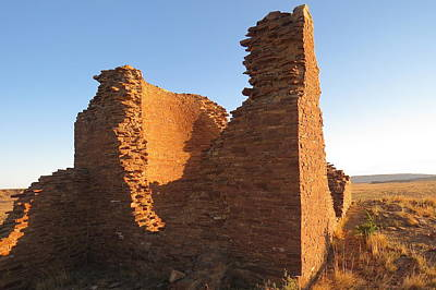 Chaco Culture Nhp Photograph - Tower Kiva At Kin Klizhin by Feva  Fotos