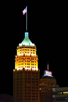 Tower Life Building San Antonio Art Print by Christine Till