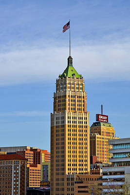 Photograph - Tower Life Building San Antonio Tx by Christine Till