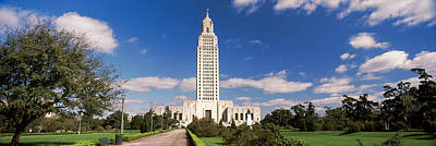 Baton Rouge Photograph - Tower Of A Government Building by Panoramic Images