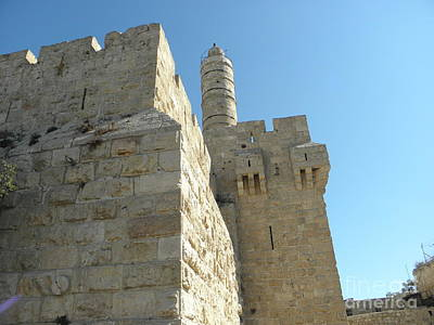Photograph - Tower Of David Israel by Robin Coaker