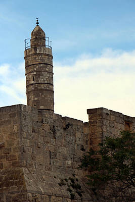 Tower Of David Photograph - Tower Of David by Munir Alawi