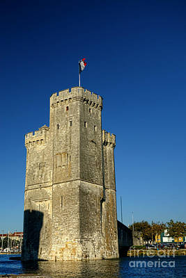 Tower Of La Rochelle Print by Olivier Le Queinec