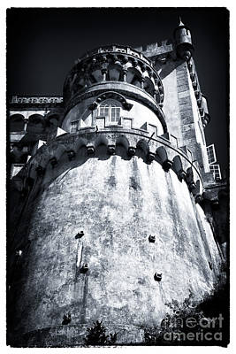 Photograph - Tower Of Pena Palace by John Rizzuto