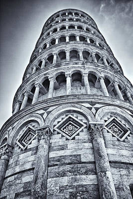 Tower Of Pisa Art Print