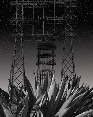 Architecture Digital Art - Tower Of Power by Larry Butterworth