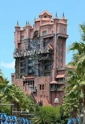 Photograph - Tower Of Terror by John Black