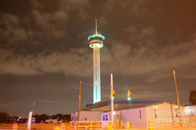 Photograph - Tower Of The Americas by Lne Kirkes