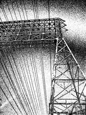 Digital Art - Tower Power by Fei A