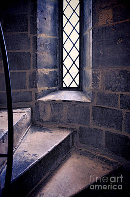 Photograph - Tower Steps And Window by Jill Battaglia