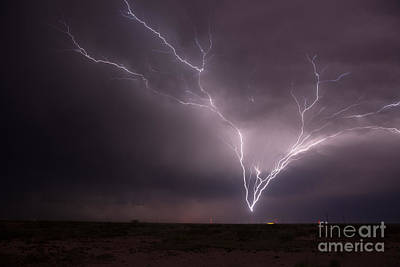 Photograph - Tower Strike by Shawn Naranjo