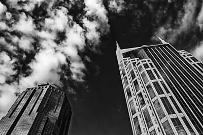 Nashville Tennessee Photograph - Tower Up by CJ Schmit