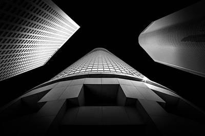Los Angeles Photograph - Tower Wars 3 by Az Jackson