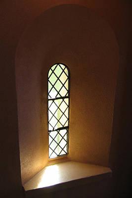 Photograph - Tower Window by Teresa Cox