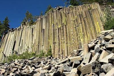 Photograph - Towering Basalt by Adam Jewell