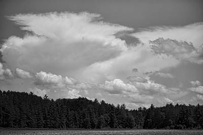 Photograph - Towering Clouds Over Buck Lake by Dale Kauzlaric