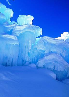 Photograph - Towering Ice by Nina Donner