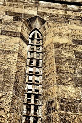 Towering Prison Art Print by JAMART Photography