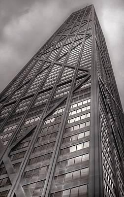 Photograph - Towering John Handcock Building by Ken Smith