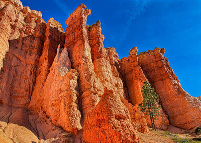 Photograph - Towering Pinnacles by John M Bailey