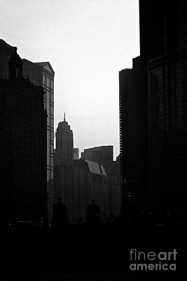 Recently Sold - Frank J Casella Royalty-Free and Rights-Managed Images - Towers - City of Chicago by Frank J Casella