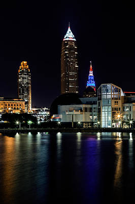 Photograph - Towers In Cleveland by Dale Kincaid