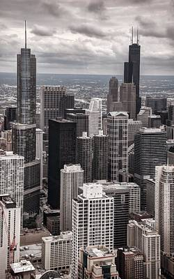 Photograph - Towers Of Chicago by Ken Smith