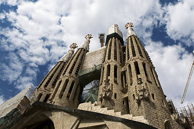 - Towers Of Sagrada Familia  by Lorraine Devon Wilke