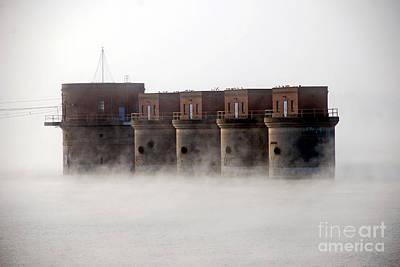 Lake Murray Photograph - Towers Rising by Skip Willits