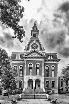 Photograph - Town Hall   3d21180 by Guy Whiteley