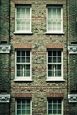 Window Wall Art - Photograph - Town House by Tom Gowanlock