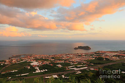 Sao Miguel Island Photograph - Town In Azores by Gaspar Avila