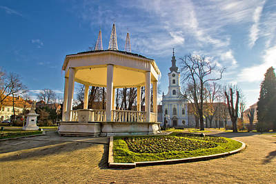 Photograph - Town Of Bjelovar Central Park by Brch Photography