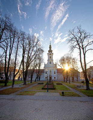 Photograph - Town Of Bjelovar Central Square by Brch Photography