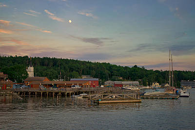 Photograph - Town Of Boothbay by Darylann Leonard Photography